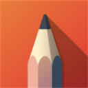 SketchBook icon png 128px