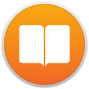 iBooks for Mac icon png 128px