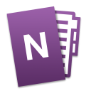 Microsoft OneNote for Mac icon png 128px
