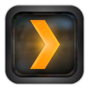 Plex for iPhone icon png 128px