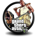Grand Theft Auto V icon png 128px