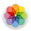 Apple Photos icon png 128px