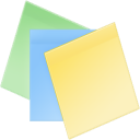 Sticky Notes icon png 128px
