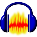 Audacity for Linux icon png 128px
