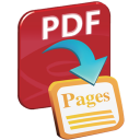 PDF to Pages Converter Expert icon png 128px