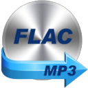 FLAC to MP3 icon png 128px