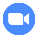 Zoom Meetings icon png 128px