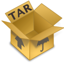 TAR icon png 128px