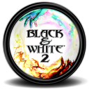 Black & White II icon png 128px