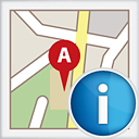 MapInfo icon png 128px