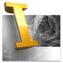 Autodesk Inventor icon png 128px