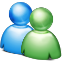 Windows Live Messenger icon png 128px