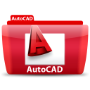 AutoCAD icon png 128px