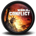 World in Conflict icon png 128px