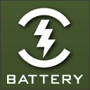 BATTERY icon png 128px