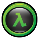 Half-Life icon png 128px