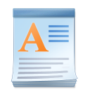 Microsoft WordPad icon png 128px