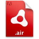 Adobe AIR icon png 128px