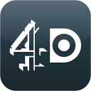 4oD icon png 128px