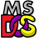 MS-DOS icon png 128px