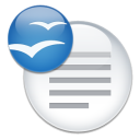Apache OpenOffice Writer (OpenOffice.org Writer) icon png 128px