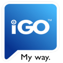 iGO My way 2010 for iPhone icon png 128px