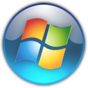Microsoft Windows 7 icon png 128px