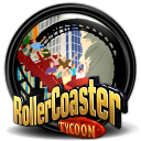 RollerCoaster Tycoon icon png 128px