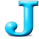 J icon png 128px