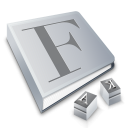 Font Book icon png 128px