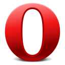 Opera browser for Linux icon png 128px