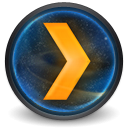 Plex Media Server for OS X icon png 128px