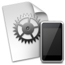 iPhone Configuration Utility for Mac OS X icon png 128px