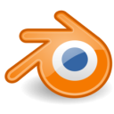 Blender for Linux icon png 128px