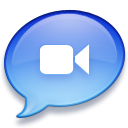 Apple iChat icon png 128px