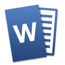 Microsoft Word for Mac icon png 128px