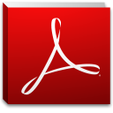 Adobe Reader for Mac icon png 128px