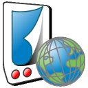 Mobipocket Reader for Blackberry icon png 128px