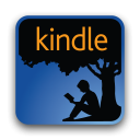 Amazon Kindle for BlackBerry icon png 128px