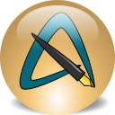 AbiWord icon png 128px