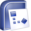 Microsoft Visio 2010: Visio Viewer icon png 128px