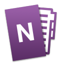 Microsoft OneNote Mobile icon png 128px
