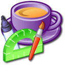 CoffeeCup Visual Site Designer icon png 128px