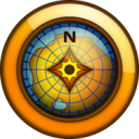 MapSource icon png 128px
