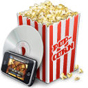 Roxio Popcorn icon png 128px