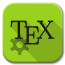 Texmaker icon png 128px
