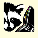 Raccoon Reader icon png 128px