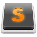 Sublime Text icon png 128px