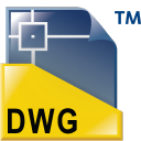 DWG TrueView icon png 128px