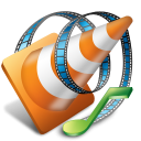 VLC media player for Android icon png 128px